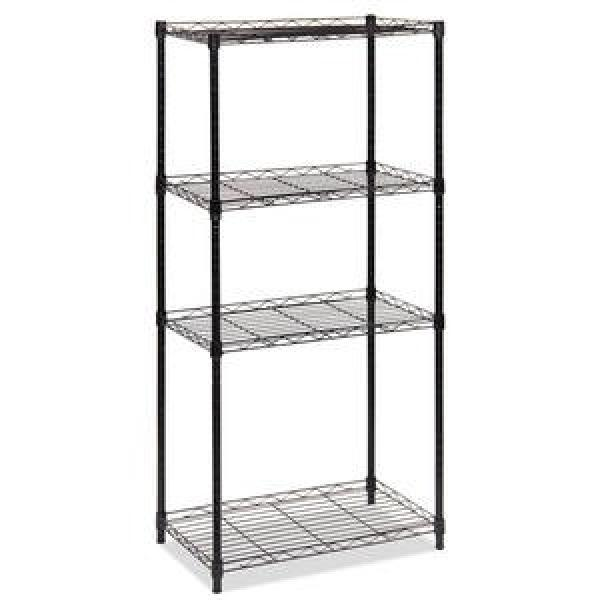 5 Tier Metal Storage Shelving with Wire Decking