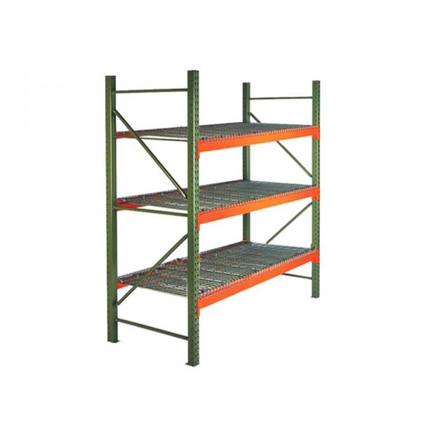 Heavy Duty Warehouse Storage Pallet Shelving with Wire Mesh Decking
