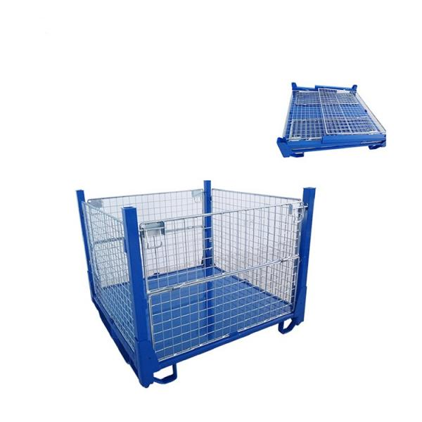 Cheap Hot Sale Material Handling Transport Tire Rack with Mesh