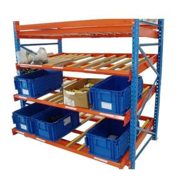 Adjustable Warehouse Heavy Duty Gravity Roller Rack