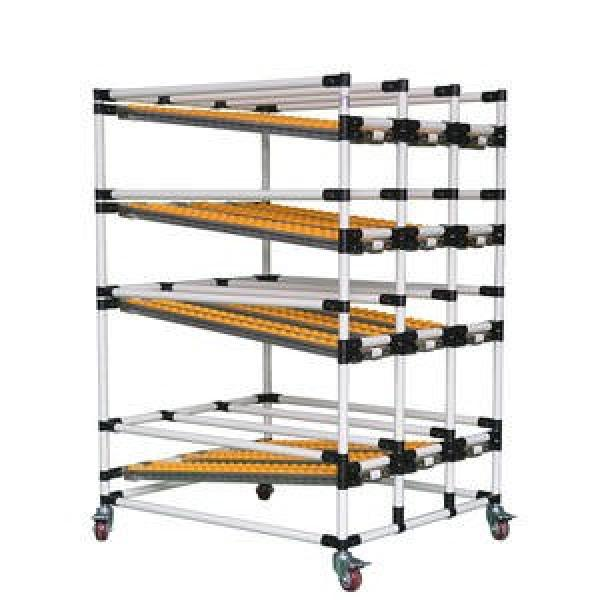 Warehouse Storage Heavy Duty Steel Roller Flow Gravity Rack